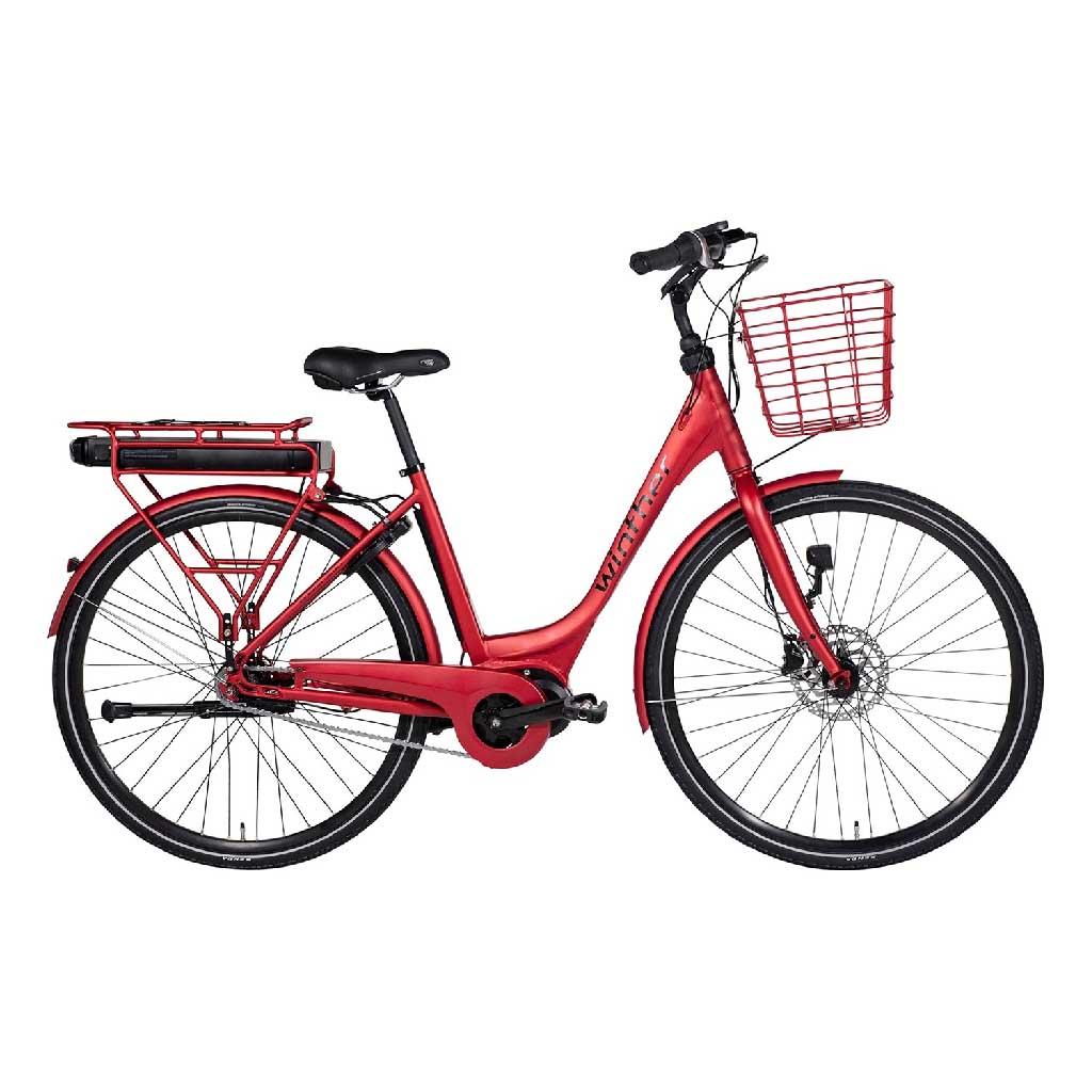 Cykelservice Aabenraa - Rød elcykel