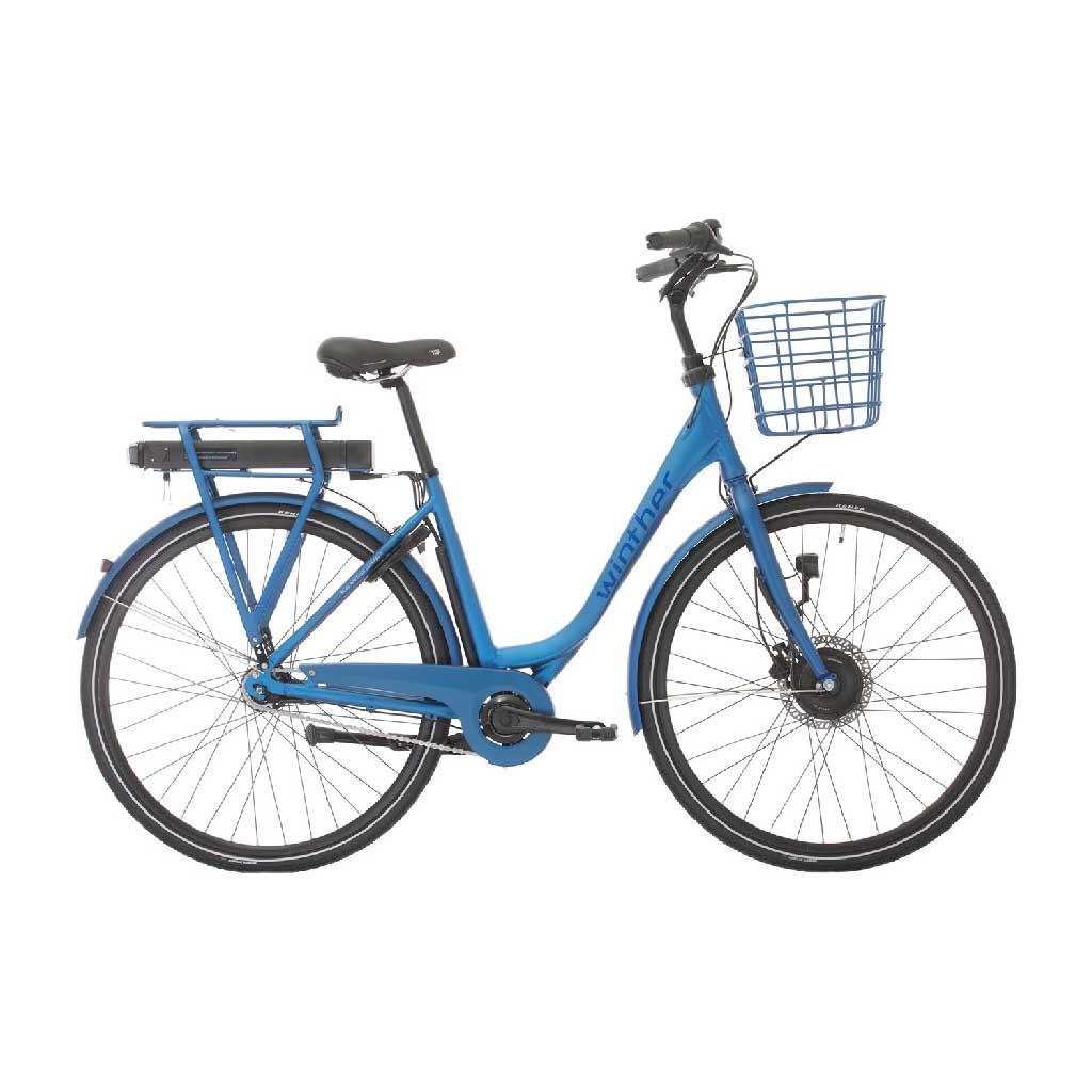 Cykelservice Aabenraa - Blå elcykel